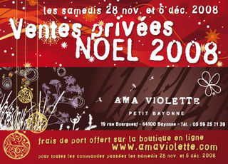 AMA VIOLETTE NOEL 2008