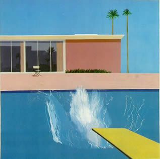 A bigger splash 1967 david Hockney