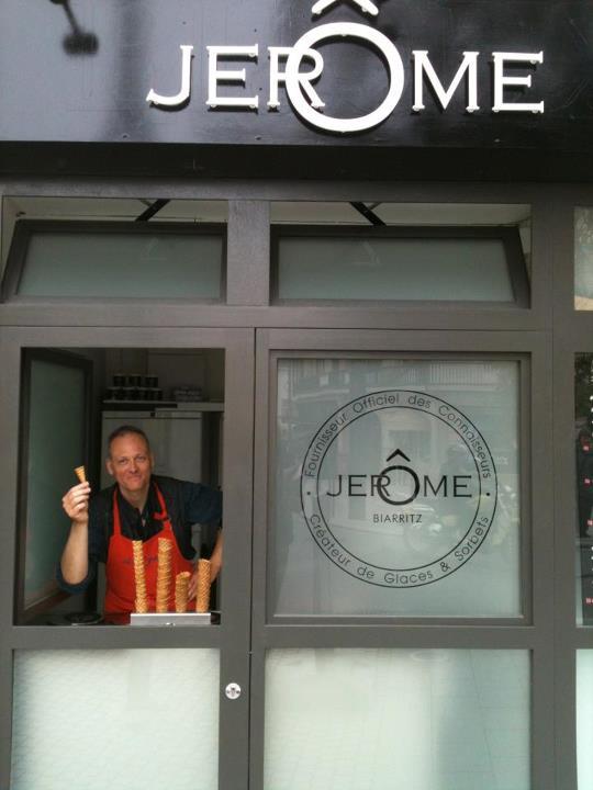 Jérôme new shop
